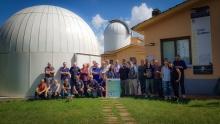 foto di gruppo corso comete 2019